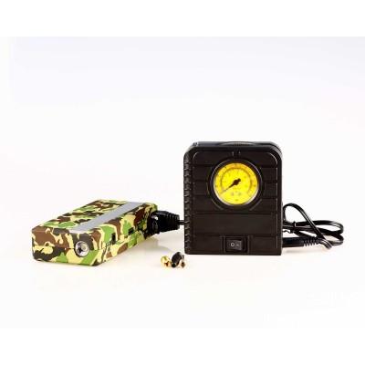 应急电源+充气泵:军,民两用
