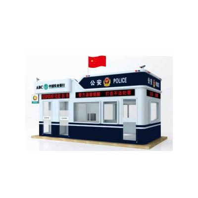 北京凌天 固定警银亭B01 010-51652021