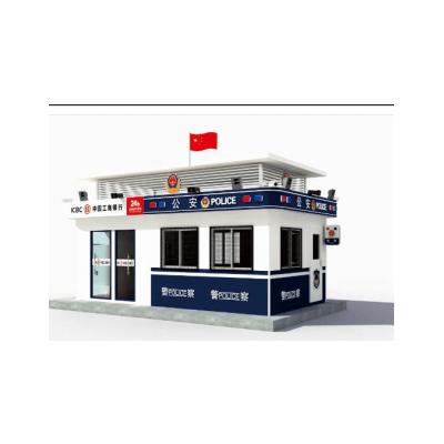 北京凌天 固定警银亭B02 010-51652021