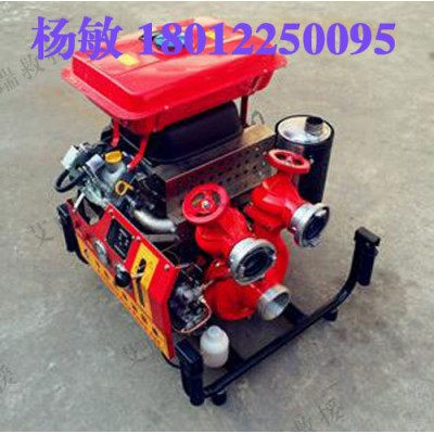 JBQ6.0/16.0机动消防泵 双缸本田动力汽油机消防泵