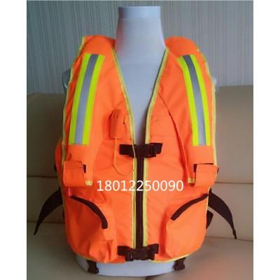 增强型消防复合救生衣,工作救生衣加气胀救生衣,消防专用救生衣
