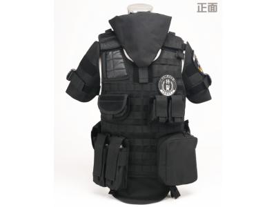 特警全防护战术背心