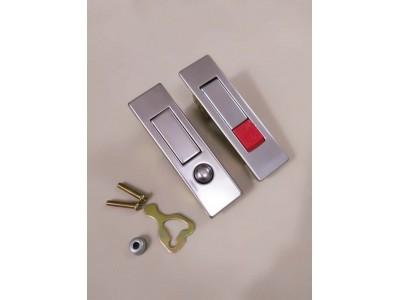 福建消防箱门锁 MS507不锈钢弹跳锁 消防箱铝合金门窗锁  配电箱锁 平面按钮锁