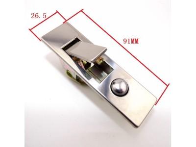 消防箱锁厂家|优质不锈钢弹跳锁|MS507平面按钮|配电箱锁具原装现货