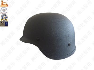 金属防弹头盔(带护耳)-江苏顺达警用装备制造有限公司