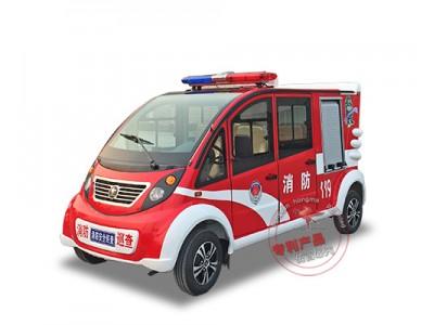 森源鸿马双排电动消防巡逻车