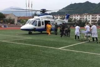 """北京密云防汛抢险救援动用直升机 黄峪口村昨夜降水再""""破百"""""""