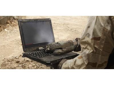 军用警用消防用的三防笔记本平板电脑