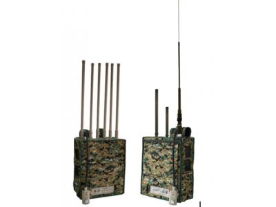 特警搜排爆背包式频率干扰仪