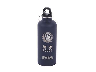 警用(圆形)不锈钢水壶-中安联合