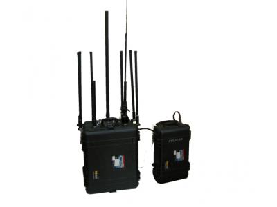 宽带拖曳式宽频带干扰仪