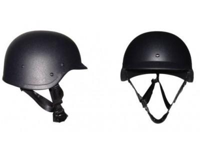 防护二级硬质防弹钢盔