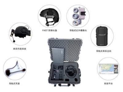 供应头盔式高清单兵通信系统WQ-4GZL