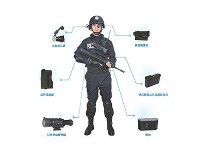 新型警用单兵综合作战系统