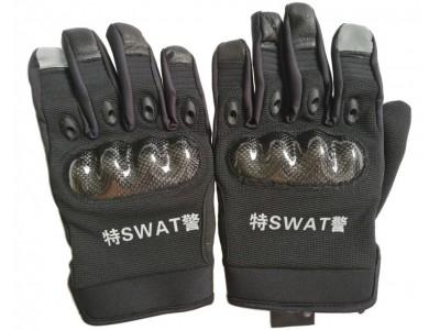 MLD-202     特警全指手套  武警作战全指手套  黑色骑行手套 耐磨防滑战术手套