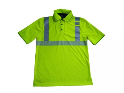 MLD-066 新款反光POLO衫 交警执勤POLO衫