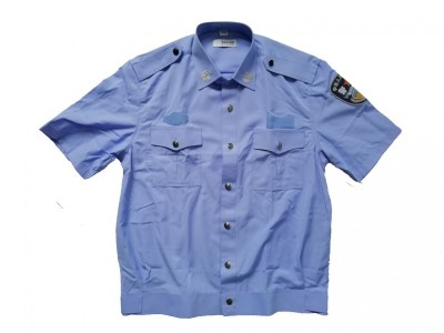 MLD-079 交织绸制式短袖 警服夏执勤服短袖衬衫