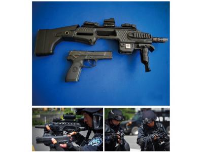 手枪专用多功能提升系统