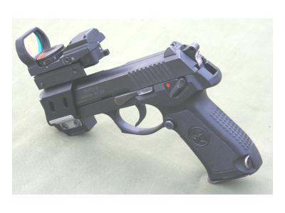 92式手枪枪用快速瞄准镜