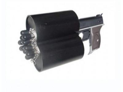 单发网枪三连发网枪