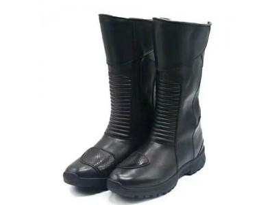 冬季防水骑行靴   交巡警铁骑骑行靴
