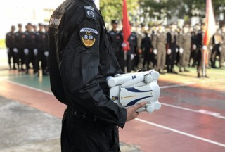 普宙飞盟平台警用无人机助力深圳特区消防演习