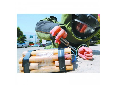 远距离排爆导线切割器拆弹工具组排爆工具组爆炸物销毁器