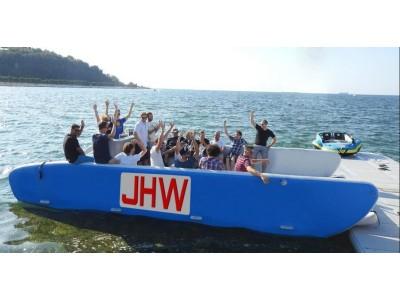 便携式大型充气救援运输船
