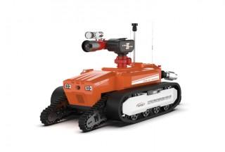 北京凌天拍了拍你:关注跨障600mm的全地形4摆臂防爆灭火侦察机器人!
