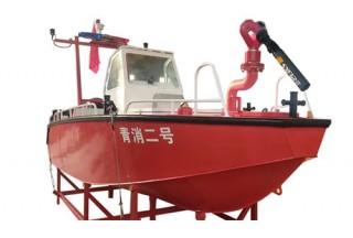 【新品发布】消防灭火救援艇,可快速部署,巡逻执法,远距离灭火,专业救援队的选择