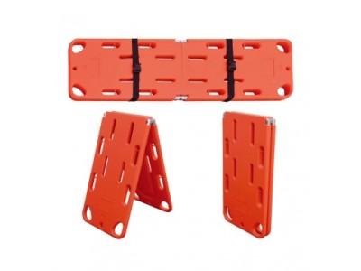 折叠脊柱板,平板担架,伤员固定抬板