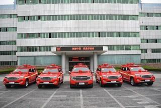 直击一线!江西消防救援总队采购新闻采访车